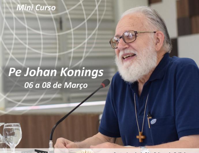 Mini curso ser cristão hoje com o Pe Johan Konings