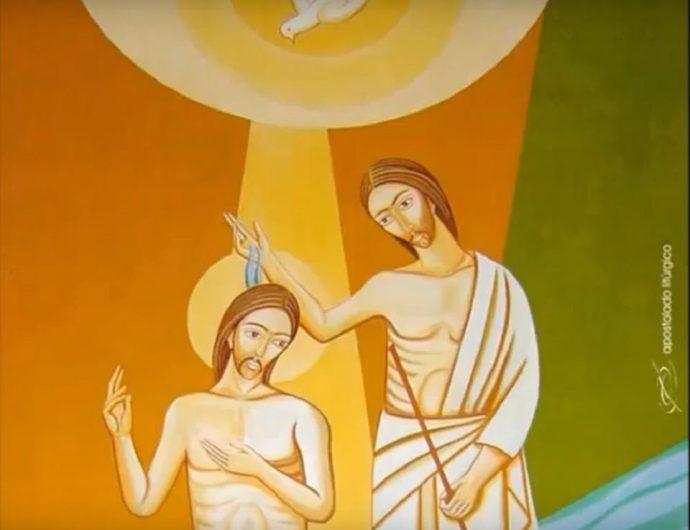 Batismo de Jesus - 12 de janeiro 2020