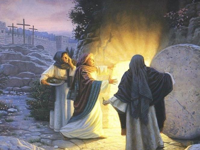 1º Domingo da Páscoa - RESSURREIÇÃO: quando os túmulos se esvaziam...