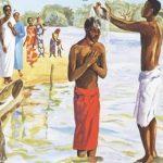 """BATISMO: Jesus """"desce"""" às águas da humanidade – 10.01.2021"""