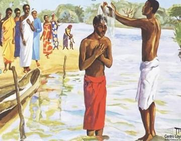 """BATISMO: Jesus """"desce"""" às águas da humanidade - 10.01.2021"""