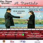"""Cine fórum debate com o filme """"A partida"""""""